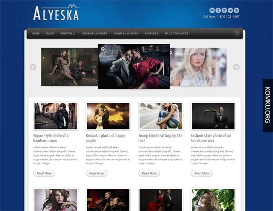 Alyeska Blogger template