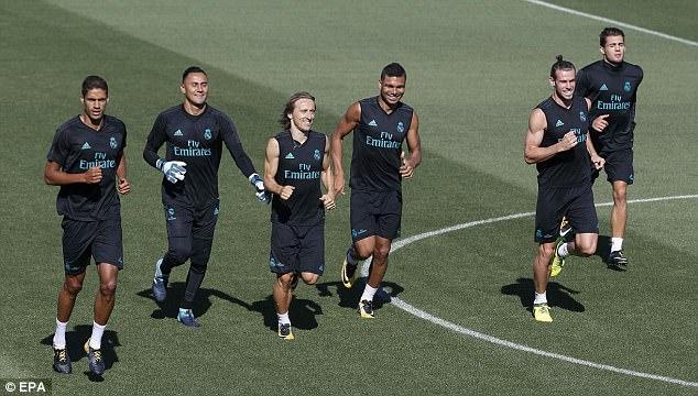 Real Madrid vui hết nấc trước đại chiến với Barcelona 8