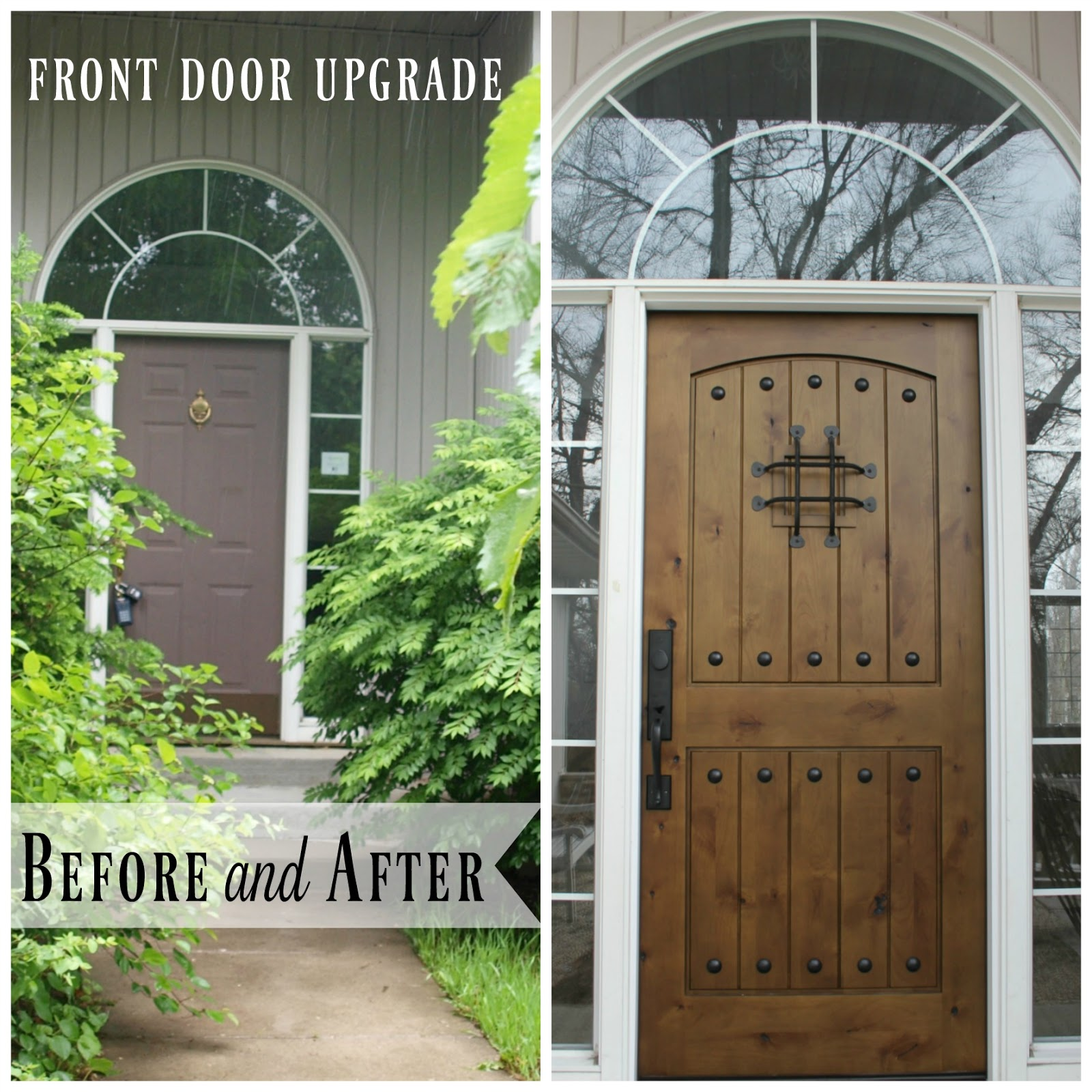 {Hello Lovely Fixer Upper} Alder Front Door - Hello Lovely