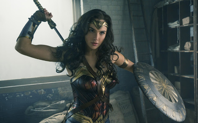 Gal Gadot (Diana) dans Wonder Woman de Patty Jenkins (2017)