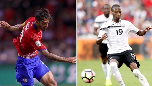 Costa Rica vs Trinidad y Tobago en vivo