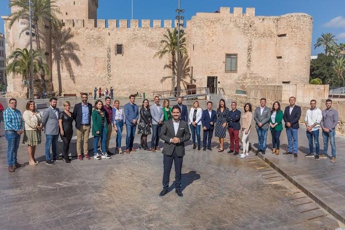David Caballero presenta el programa electoral de Contigo Elche en Las Bayas
