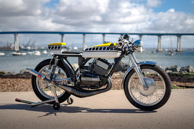 Yamaha R5 1971 By Zanutto Engineering Hell Kustom