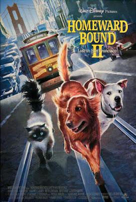 Homeward Bound II: Lost in San Francisco Poster