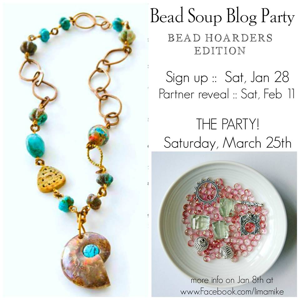 BEAD SOUP BLOG PARTY 2017