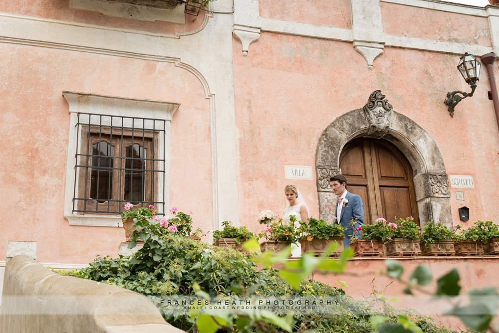 Villa wedding in Positano