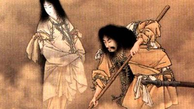 Izanami e Izanaki - Adão e Eva