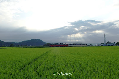 日本の風景 鉄道 撮り鉄 福島県 会津線