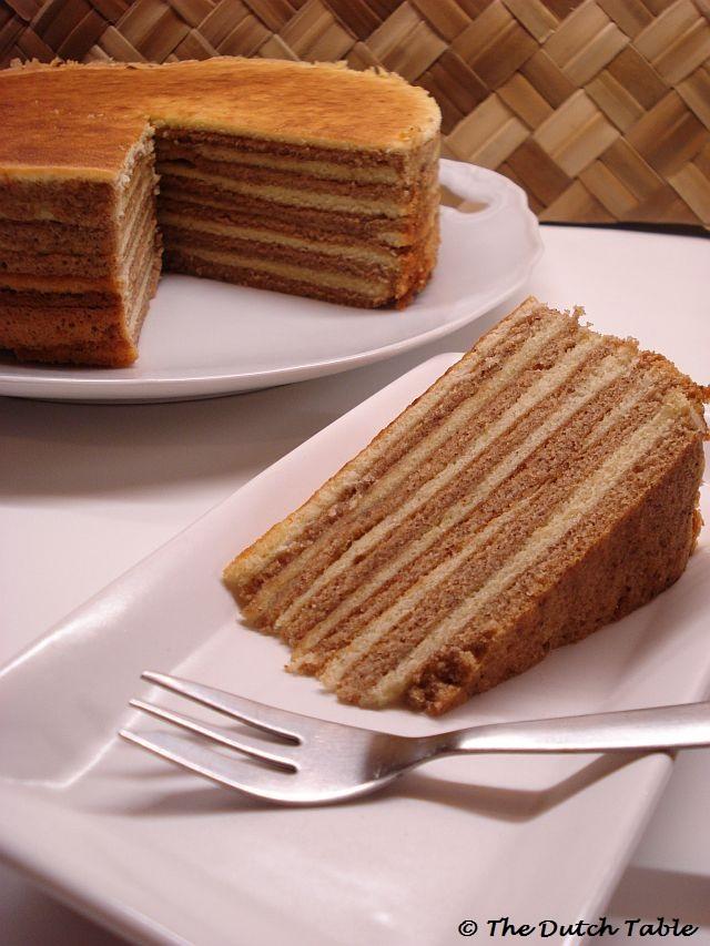 Indonesian Spice Cake Recipe