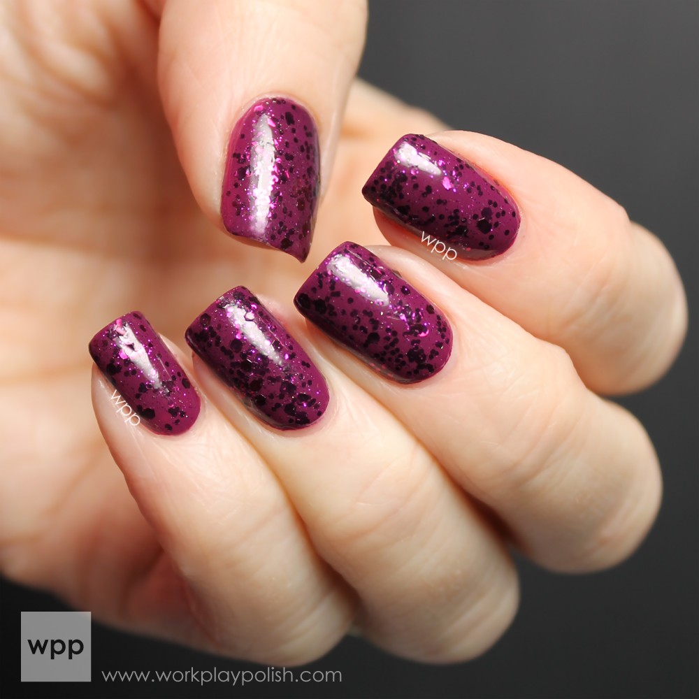 OPI Mariah Carey Anti-Bleak and ILNP A Nice Chianti (work / play / polish)