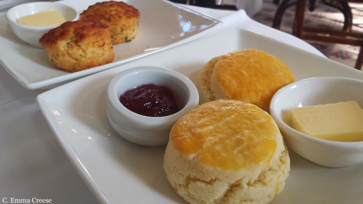 Scones the great Afternoon Tea Controversy