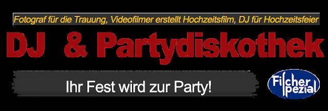 DJ Rügen - Hochzeit DJ Fischer Spezial, mobile Diskothek Rügen Mecklenburg-Vorpommern