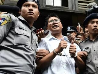 Myanmar Reuters journalists lose appeal against 7-year sentence