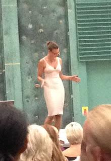 Anna Bogdanova på scenen