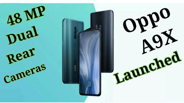 Kamera Oppo A9x Didongkrak Menjadi 48 MP Mirip F11