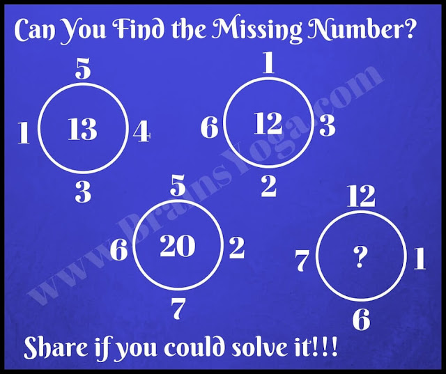 Maths Brain Teaser for Kids