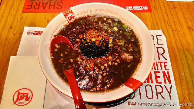 Black King; Ramen Nagi; Robinsons Place Manila; Getaway to Manila; Philippines