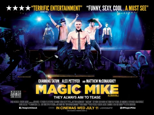 Magic Mike poster movieloversreviews.filminspector.com.com