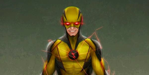 Reverse Flash Concept Art