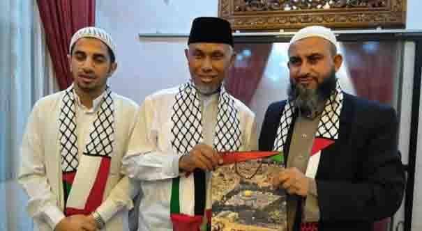 Bela Palestina, Walikota Padang Bakal Cegat Produk Amerika di Padang