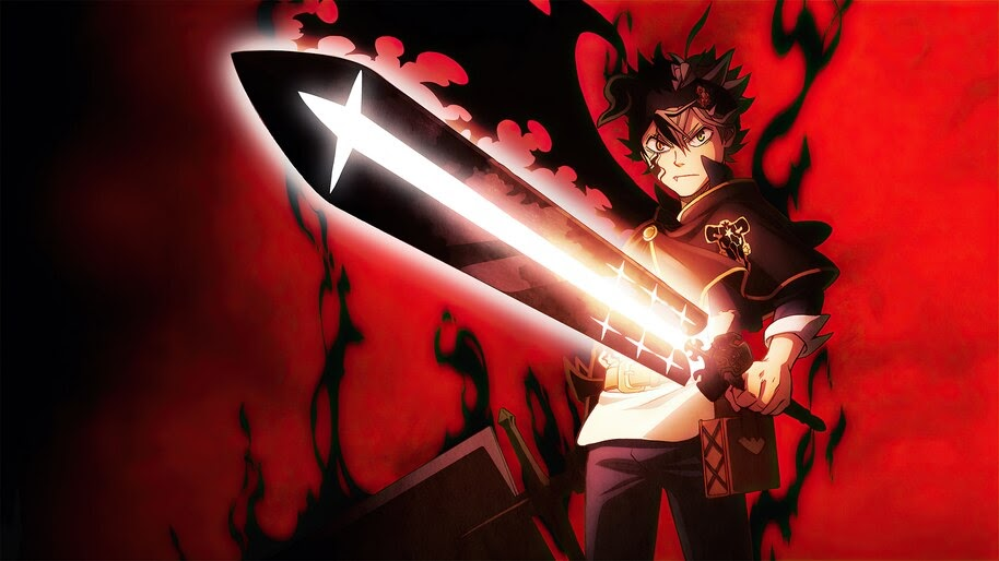 Black Clover, Black Asta, Sword, 4K, #6.822
