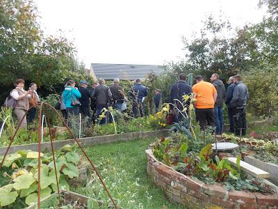 Visite du jardin oganisée pour la Fredon et pour différents organismes et associations