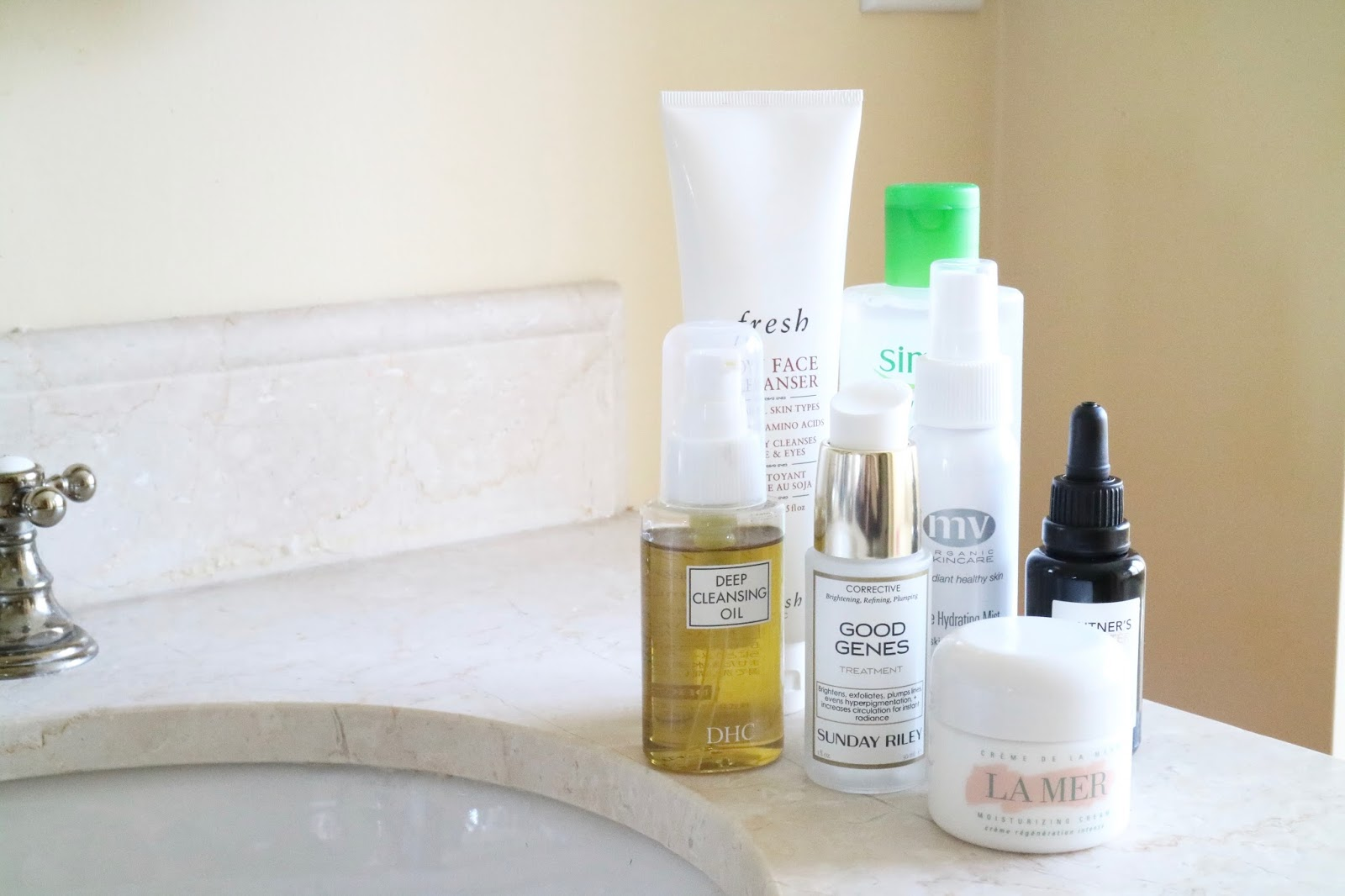 EVENING SKINCARE ROUTINE: SPRING 2016