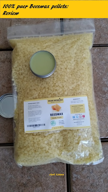 100% Pure Organic Yellow Beeswax Pellets