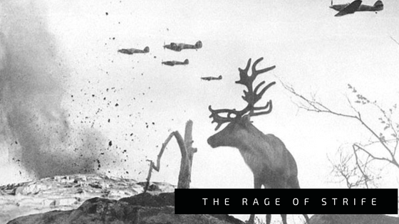 The Rage of Strife // a short story