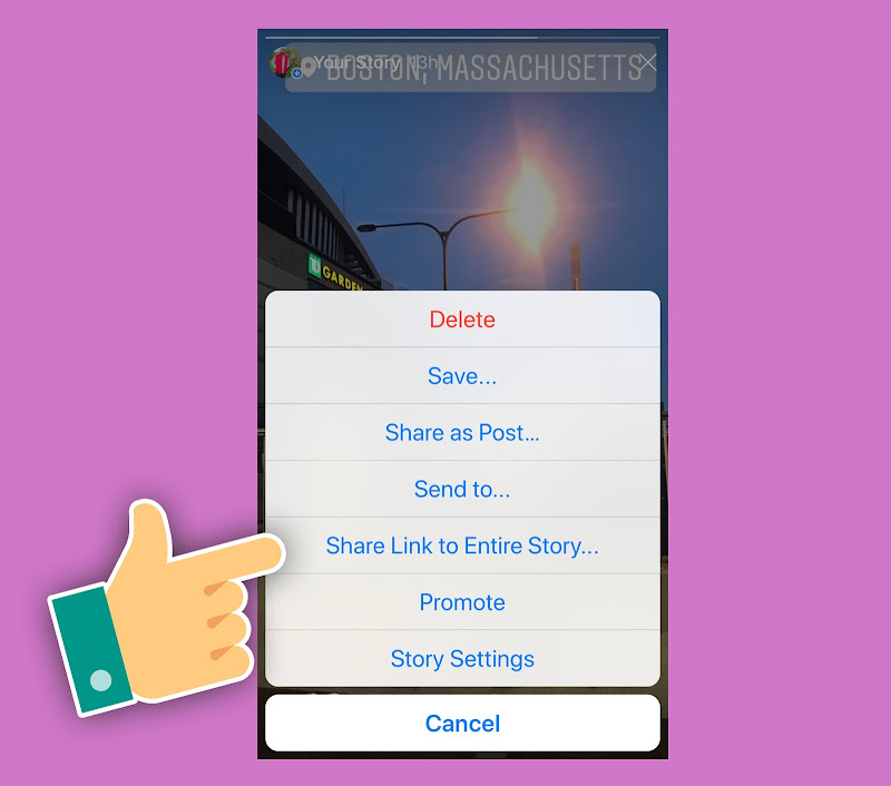 Instagram Adds Option to Link to Instagram Stories, Expands Stories Promote Tool
