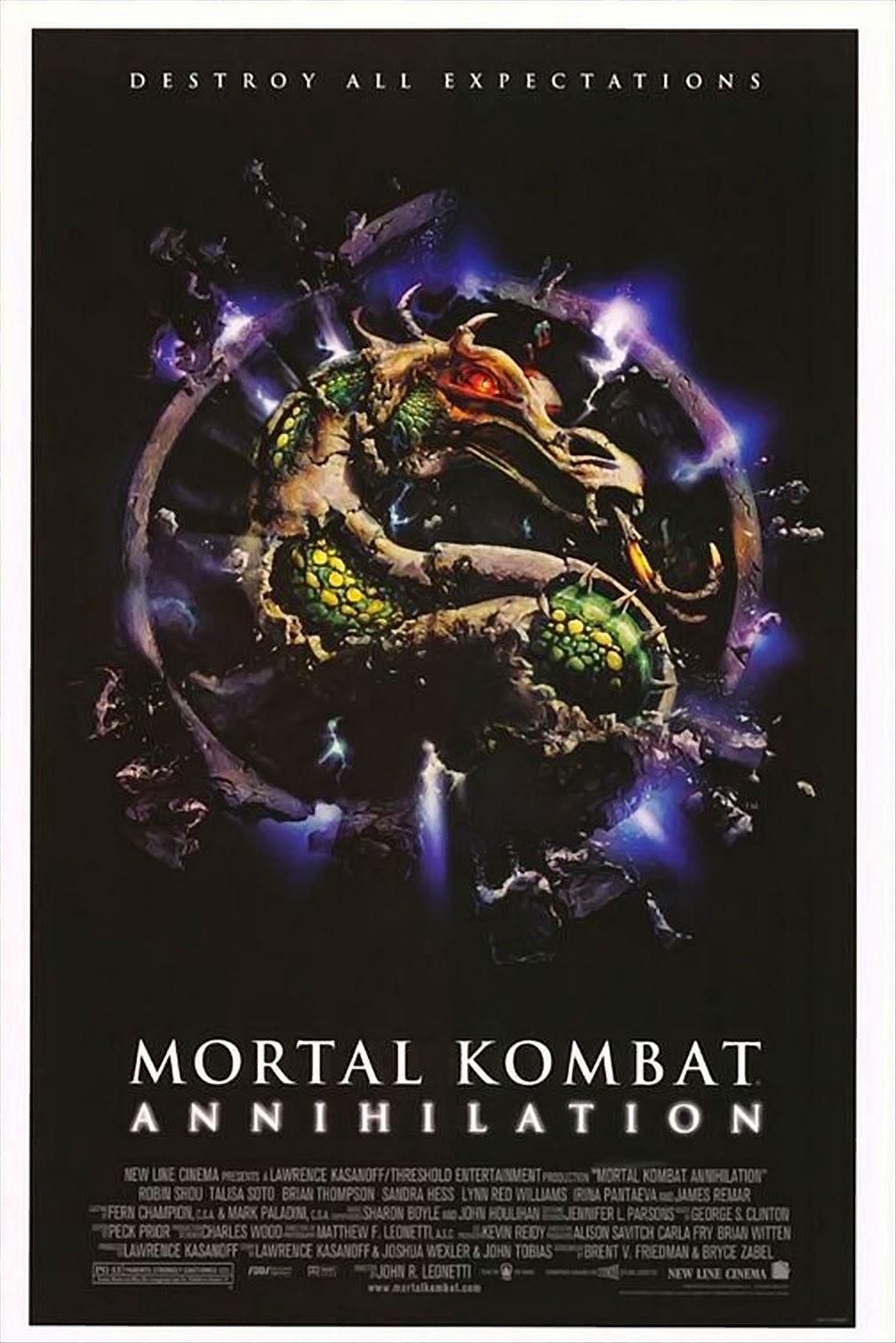 Mortal Kombat Annihilation (1997) ταινιες online seires oipeirates greek subs