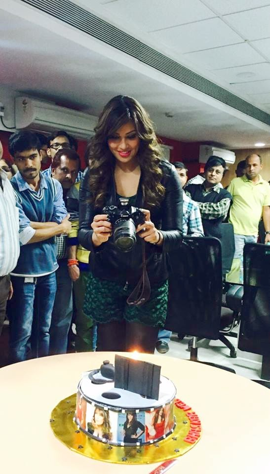 Bipasha Basu promotes alone movie at Indore