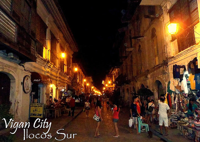 Vigan City tourist destinations