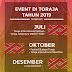 JADWAL EVENT TAHUNAN DI TORAJA 2019