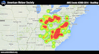 Meteor Heat Map 11-3-14