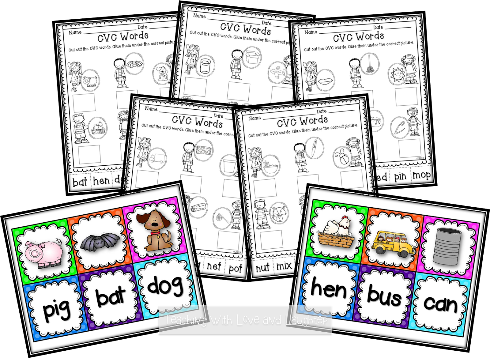Teaching With Love And Laughter Kindergarten Literacy
