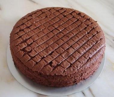 Resepi Kek Span Coklat