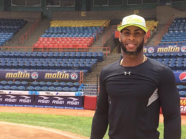 """Este viernes el cubano sacó la pelota por el jardín izquierdo del estadio Luis Aparicio """"El Grande"""", de Maracaibo, uno de los recintos beisboleros donde menos se registran vuelacercas a lo largo del año"""