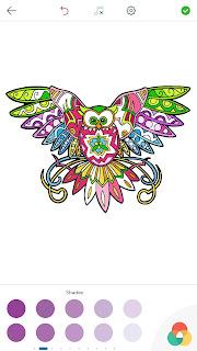 Dessins de Coloriage Hibou Owl%2BColoring%2BPages%2BAndroid%2BScreenshot%2B4