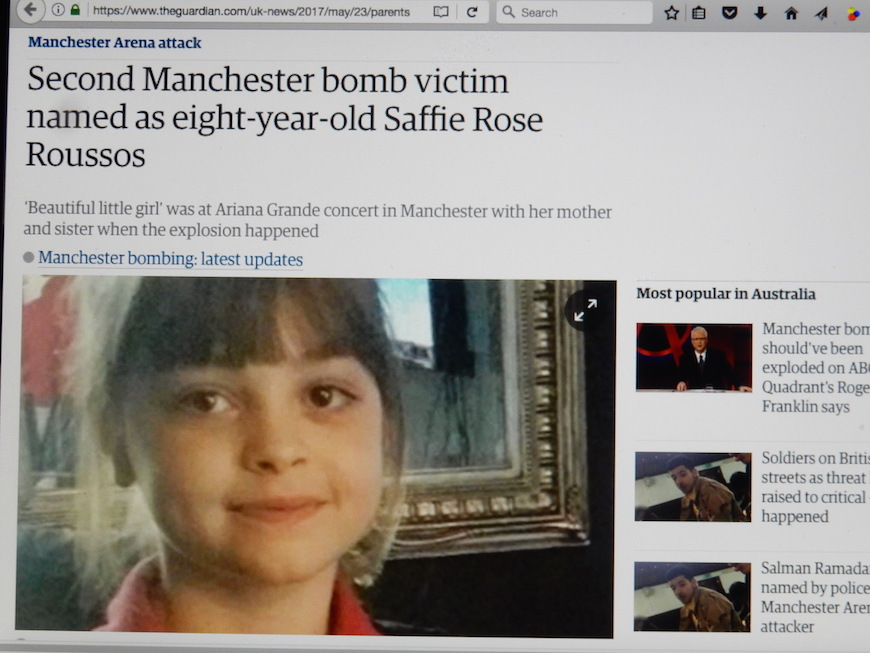 「Ariana Grande テロ 8歳」の画像検索結果