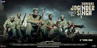 Subedar Joginder Singh First Look Poster