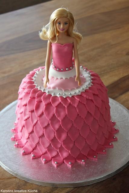 Kerstins kreative Kche Barbie Torte