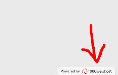 Cara Menghilangkan Powered By 000webhost Terbaru