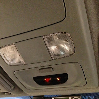 Fix Toyota Tacoma Overhead Temperature & Compas Display