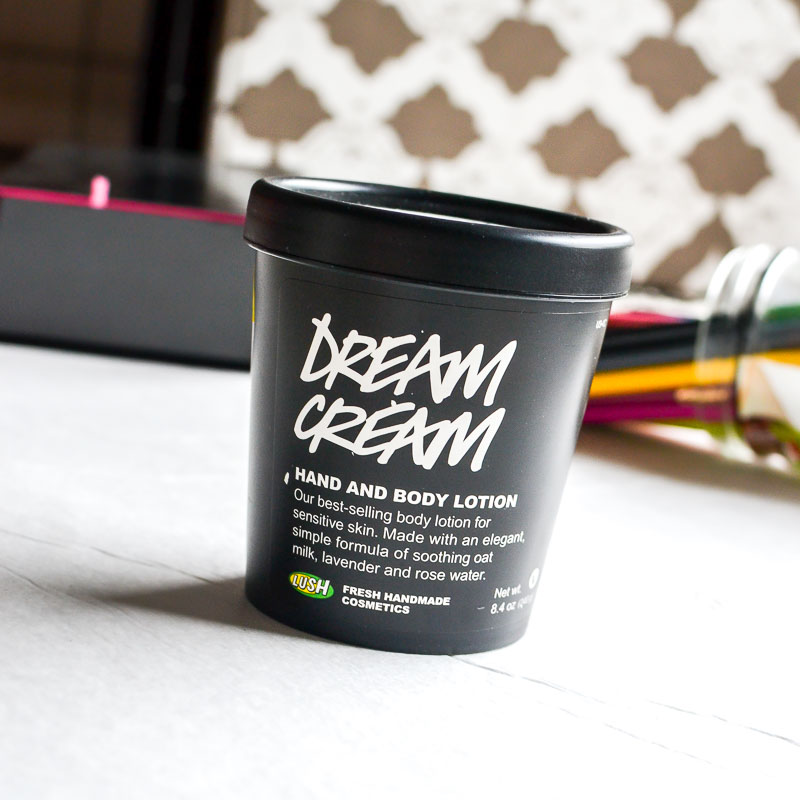 Lush Dream Cream Hand and Body Lotion Moisturizer Review