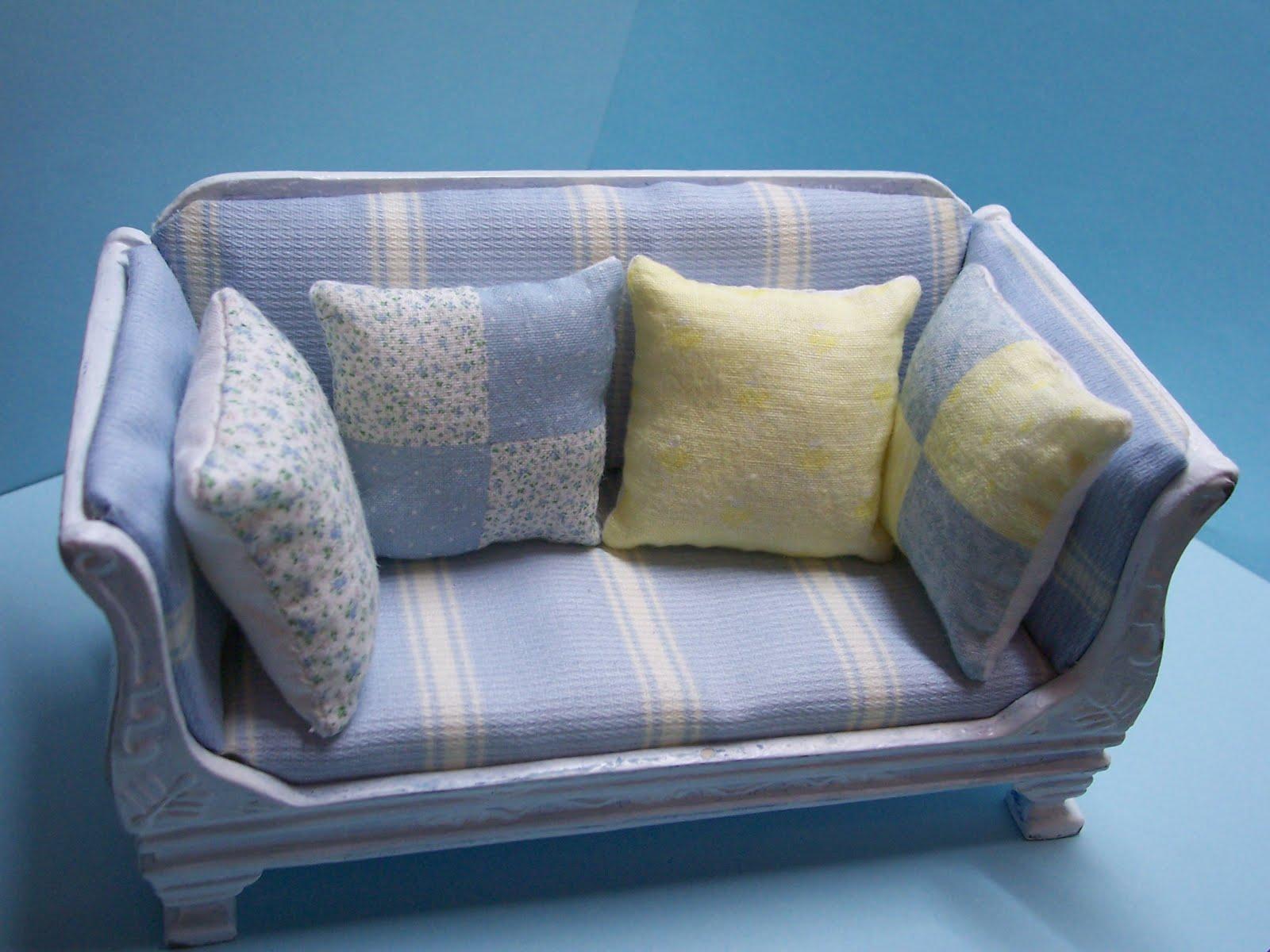 Mis minis cojines para el sof - Cojines para el sofa ...