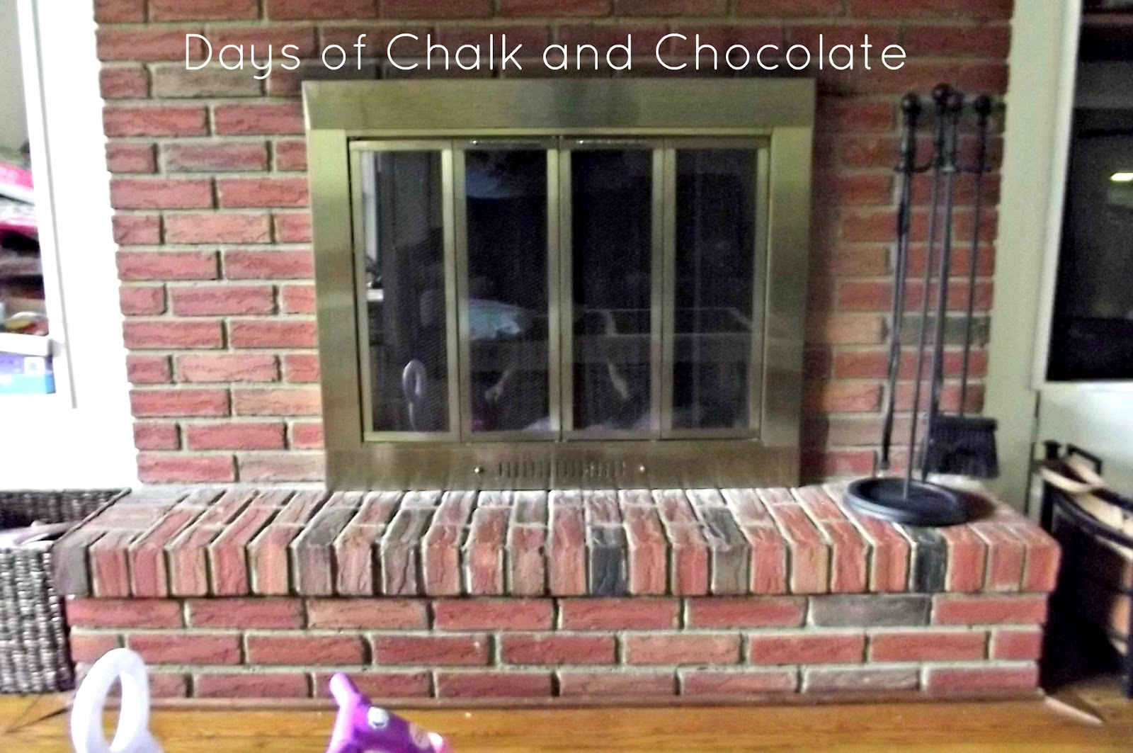 Painting A Fireplace Surround Hanging Fireplace Updates