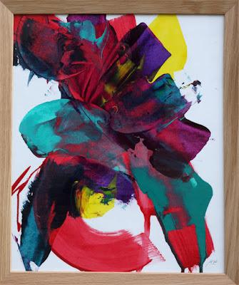 peinture sur papier artiste peintre bordeaux