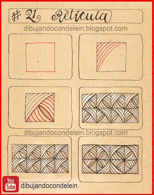 Dibujando Con Delein Como Dibujar Zentangle Art Paso A Paso Diseno 21