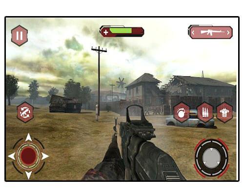 لعبة Modern World War US Army Survival لعبة قتال